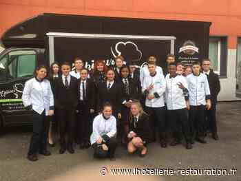 Les élèves du lycée Georges Baptiste de Canteleu cuisinent à bord d'un food truck - L'Hôtellerie Restauration