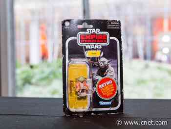 Star Wars Retro Collection throws back to The Empire Strikes Back     - CNET