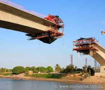 El puente Arenal-Soplaviento será terminado en junio - El Universal - Colombia