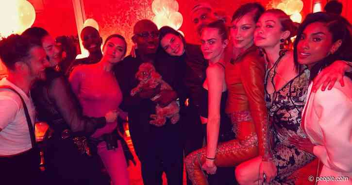 Irina Shayk Hosts Birthday Party for Edward Enninful with Guests Kendall Jenner & Orlando Bloom