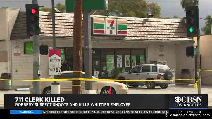 Clerk Shot, Killed In Attempted Robbery At Whittier 7-Eleven