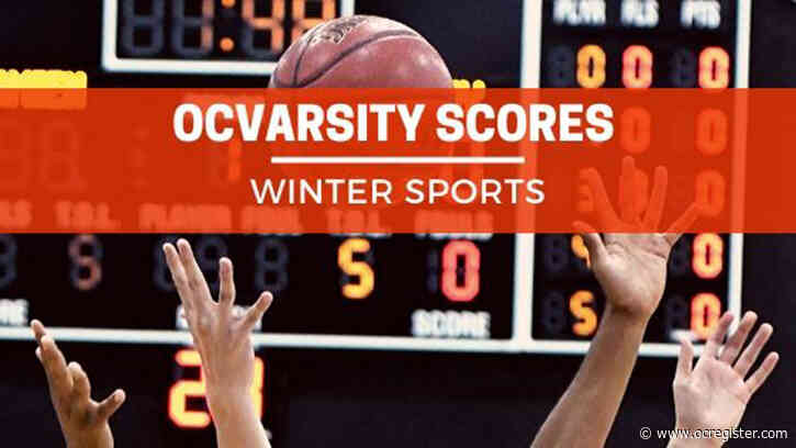 Orange County scores and player stats for Saturday (2-22-2020)