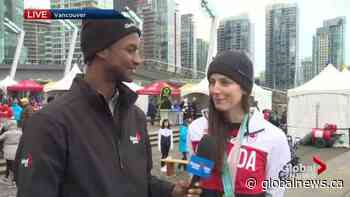 2010 Vancouver Winter Games celebration underway at Jack Poole Plaza