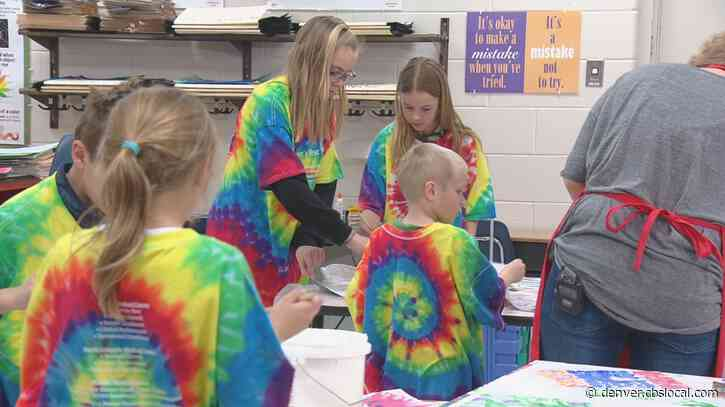 Large Mural To Feature 435 Handprints At Centennial Elementary