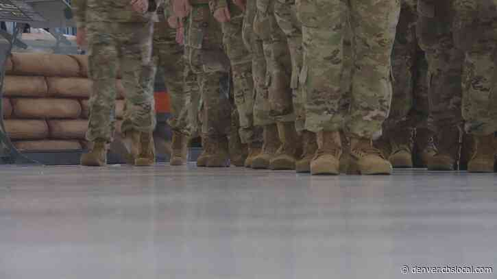 Colorado National Guard Troops Deploy To Afghanistan