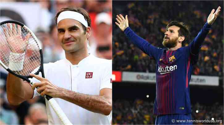 Roger Federer Comes in Second Place Behind Messi in Footy 100 tool