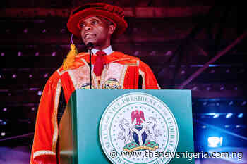 READ: Osinbajo's convocation lecture at Federal University, Dutse (full text) - The News