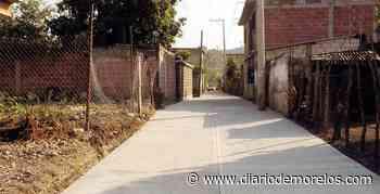 Inauguran una calle en Tepalcingo - Diario de Morelos