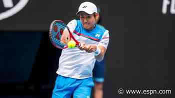 Unseeded Nishioka upsets Humbert in Delray