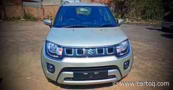 Maruti Ignis Facelift: Check it out in a walkaround video - CarToq.com