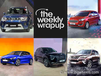 Top 5 Car News Of The Week: Maruti Ignis BS6 Launched, 2020 Hyundai i20 Unveiled, New Creta Interiors Teased, And Toyota Fortuner BS6 Prices Revealed - ZigWheels.com