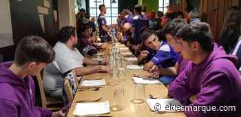 La visita del Becerril a Donostia: fútbol, cánticos, bufandas... ¡txotx! - ElDesmarque Gipuzkoa