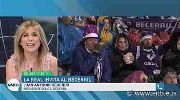 Vídeo-entrevista a Juan Antonio Redondo, presidente del Becerril; Anoeta 2020   Qué me estás contando   Ei - EiTB Radio Televisión Pública Vasca