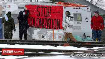 The Wet'suwet'en conflict disrupting Canada's rail system