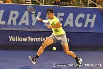 ATP Delray Beach: Milos Raonic, Frances, Tiafoe, Steve Johnson, Ugo Humbert advance - Tennis World USA
