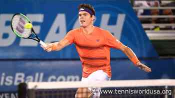 Milos Raonic: People in Delray Beach are very excited about tennis - Tennis World USA