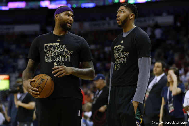Lakers stay tight-lipped as DeMarcus Cousins works on rehab at practice
