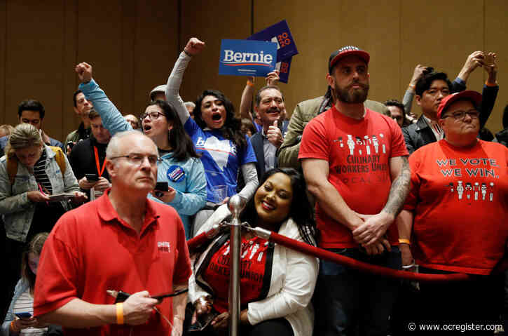 Bernie Sanders wins Nevada caucuses, takes national Democratic lead