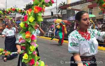Machachi y Sangolquí también tuvieron sus desfiles de Carnaval - El Comercio (Ecuador)
