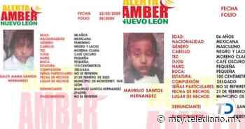 Desaparecen dos hermanos en Monterrey; activan Alerta Amber - Telediario Monterrey