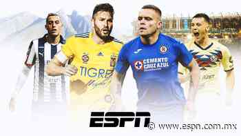 ¿Qué combinado ganaría?, Monterrey-Tigres o Cruz Azul-América - ESPN