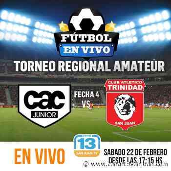 En vivo por Canal 13: Colón y Trinidad se juegan su futuro en el Regional - Canal 13 San Juan TV