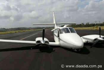 Avioneta aterriza de emergencia en aeropuerto de Colón - Día a día