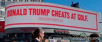 « Trump triche au golf »: Bloomberg se moque du président sur des panneaux publicitaires