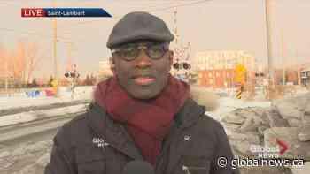 Tensions mount in Saint-Lambert after injunction served | Watch News Videos Online - Globalnews.ca