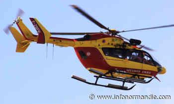 Yvelines. Percuté par une voiture à Mantes-la-Ville, un motard héliporté en urgence absolue - InfoNormandie.com