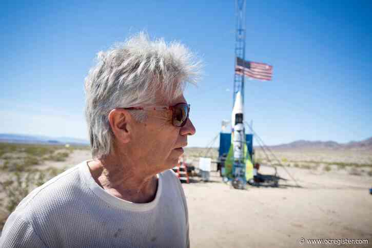 Daredevil 'Mad' Mike Hughes dies in rocket crash near Barstow