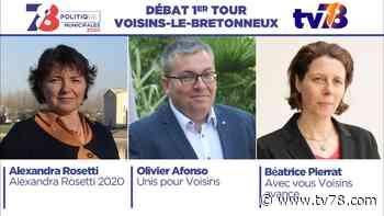 Municipales 2020. Voisins-le-Bretonneux. Débat du 1er tour. - TV78