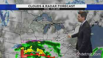 Metro Detroit weather: Checking in on multiple waves of snow next week - WDIV ClickOnDetroit