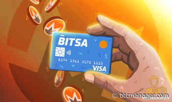 Bitsa Prepaid Crypto Card Adds Monero (XMR) Support - BTCMANAGER