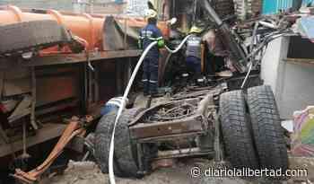 Accidente de tractomula dejó seis muertos en Nariño - Diario La Libertad