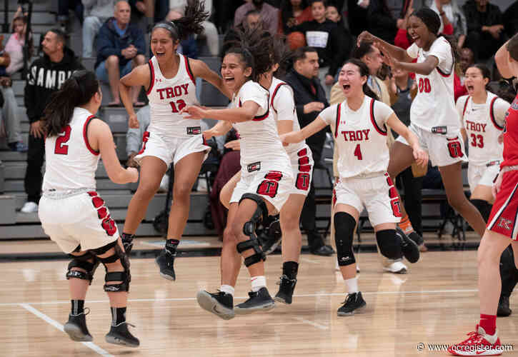 Troy girls basketball survives startling rally by ML King to advance to Division 1 final