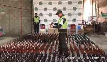 Decomisaron 1.800 botellas de licor de contrabando en Barranquilla [VIDEO] - Extra Palmira