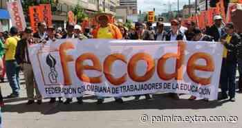 Fecode ha marchado pacíficamente por la ruta acordada en Bogotá - Extra Palmira