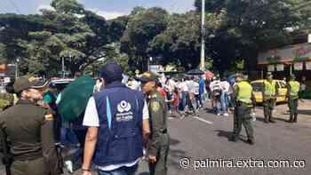 Agentes de Tránsito acompañan movilizaciones en Ibagué - Extra Palmira