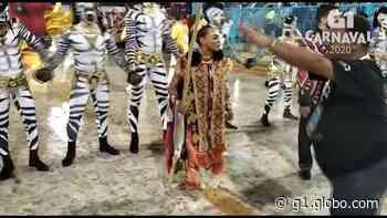 Dandara Mariana desfila na Comissão de Frente da Unidos de Padre Miguel - G1