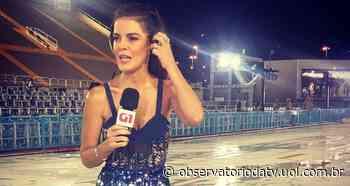 Mariana Gross recebe críticas por cobertura do Carnaval e rebate com ironia - Observatório da Televisão