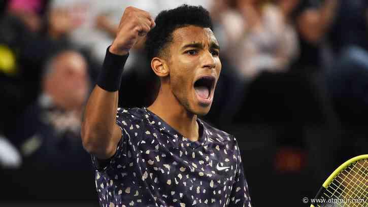 Felix Auger-Aliassime Beats Gilles Simon To Reach Back-To-Back Finals - ATP Tour