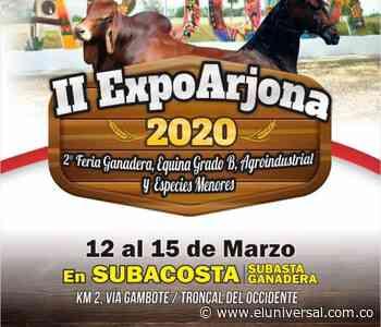 Arjona, el escenario para negocios pecuarios en Bolívar - El Universal - Colombia