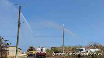 Electricaribe adelanta labores de lavado de redes preventivo en Riohacha y Maicao - El Informador - Santa Marta