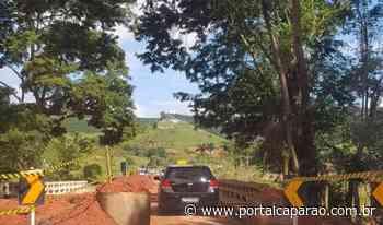 Reduto - Manhumirim: Ponte da MG-111 é liberada para veículos pequenos - Portal Caparaó