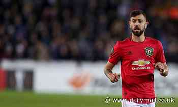Ole Gunnar Solksjaer hails 'conductor and leader' Bruno Fernandes following £68m January arrival