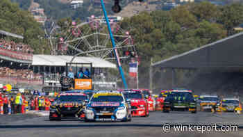 Seven-time Supercars champion dedicates win 'to Holden' - Wink Report