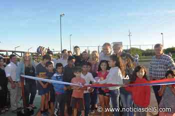 ▷ Campo Viera: inauguran un nuevo playón deportivo en el barrio Km 28 - noticiasdel6.com - Noticiasdel6.com