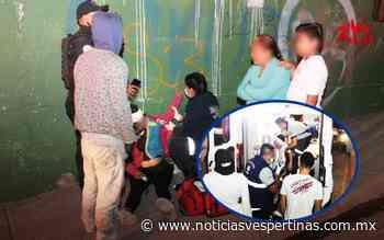 Golpean a dos en Lomas del Mirador - Noticias Vespertinas