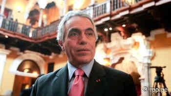Diego García Sayán asesoró a la empresa Odebrecht entre los años 2003 y 2005 - RPP